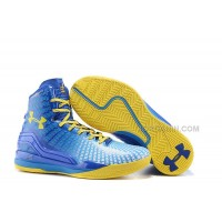 Cheap Under Armour ClutchFit Drive Stephen Curry PE Blue Yellow Black
