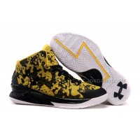 Cheap Under Armour Stephen Curry One Yellow Black White