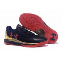 Hot Under Armour Curry One Low Black Gold Red