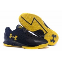Hot Under Armour Curry One Low Black Yellow