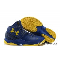 Cheap Under Armour Curry 2 Dub Nation Cobalt/Academy-Taxi Free Shipping