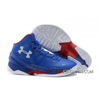 'Providence Road' Under Armour Curry 2 Blue – White/Red Super Deals