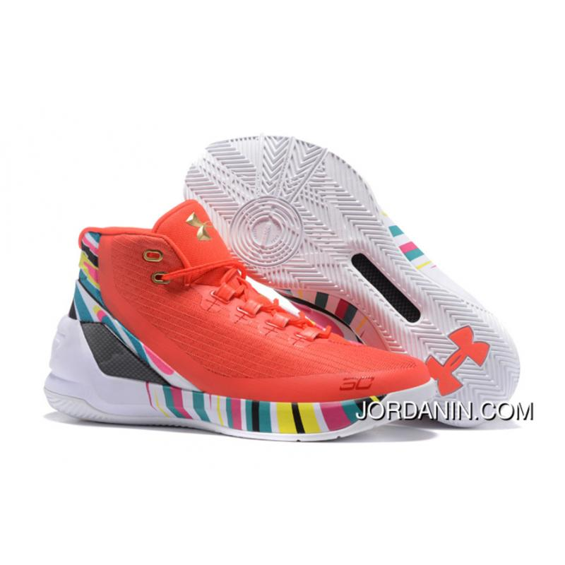 78ceed9866f Cheap Under Armour Curry 3 CNY Rocket Red Aluminum-Black Release ...