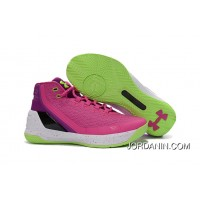 Cheap Under Armour Curry 3 Pink/Purple -Black/White Free Shipping