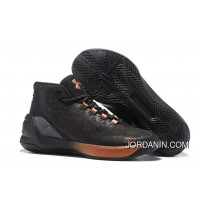 """All-Star"" Under Armour Curry 3 Brass Band Black/Copper Free Shipping"