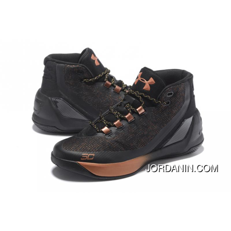"new style 01013 670c0 ... ""All-Star"" Under Armour Curry 3 Brass Band Black/Copper Free Shipping;  "" ..."