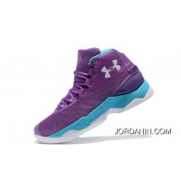 Cheap Under Armour Curry 3.5 Purple Blue Mens Shoes Discount