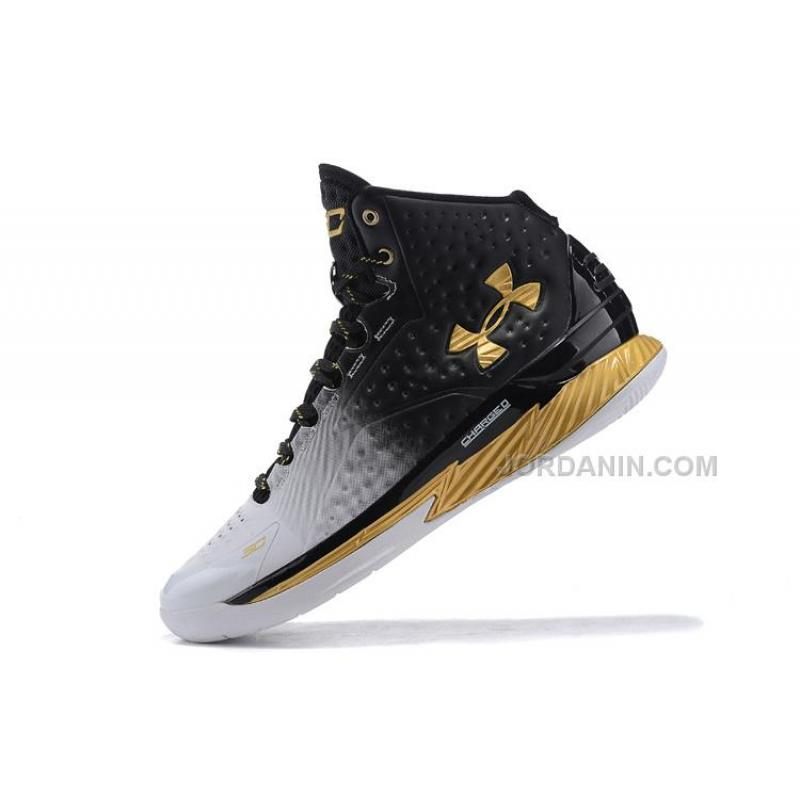3cc7f62fb161 italy new under armour ua curry one mvp white black gold shoes for da169  70e15