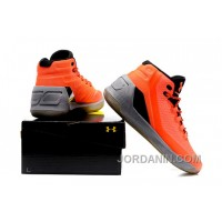 Under Armour Stephen Curry 3 Shoes Orange