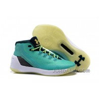 Under Armour Stephen Curry 3 Shoes Tiffany White