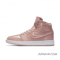 WMNS Air Jordan 1 Hi Summer Of High Slit Pink Silks And Satins Top Deals