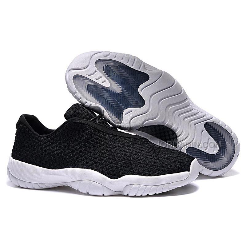 meet 4a535 4a181 Hot Womens Jordan Future Low Black White, Price: $84.00 - New Jordan ...