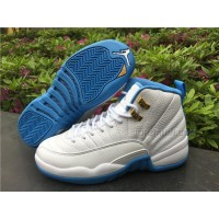 Women Air Jordan 12 GS University Blue