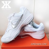 New Year Deals Net Red Hot Sale Small White Shoes-NIKE COURT LITE Women Tennis Shoes Size 845021-100