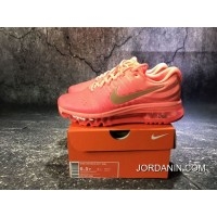 851623-800 Nike Air Max 2017 Full-palm Cushion Breathable Running Shoes Women Shoes Outlet