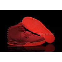 Cheap Women Nike Air Yeezy 2 Red October Glow In The Dark