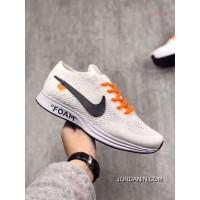 Women Nike X Off White Flyknit Trainer Shoes AAA 219 Free Shipping