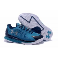 Cheap Womens Under Armour Curry One Low Panthers