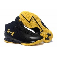Hot Under Armour Curry One Black Yellow