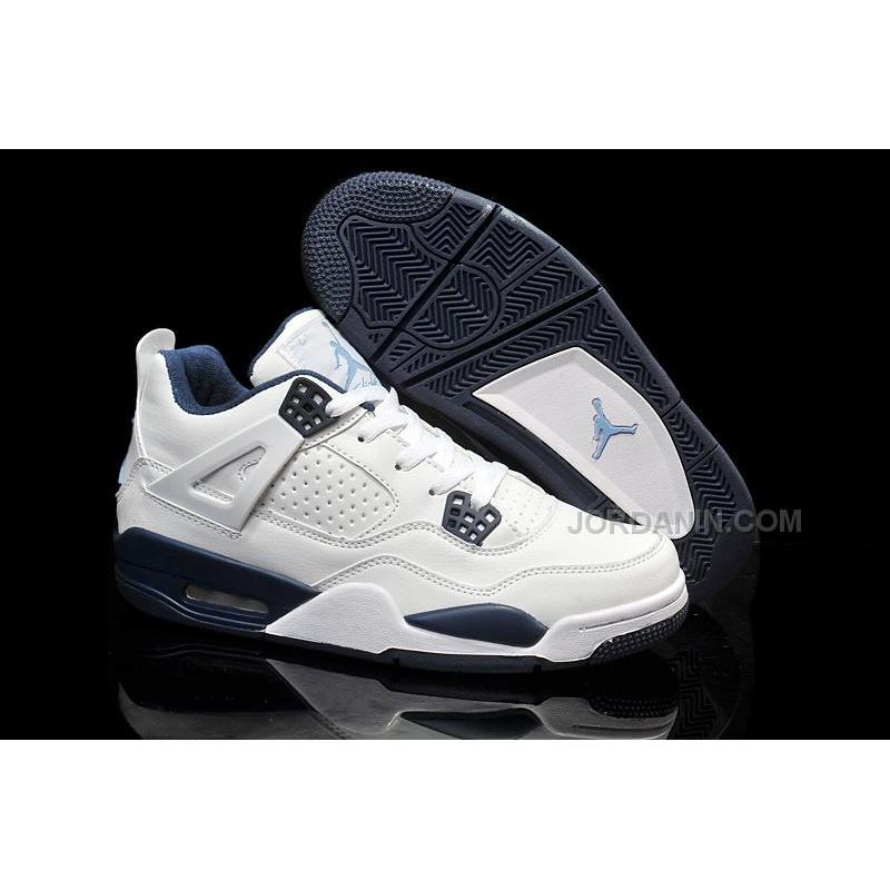 best website 39848 c1f41 USD  69.00  207.00. Cheap Air Jordan 4 Girls White Legend Blue-Midnight Navy  For Sale ...