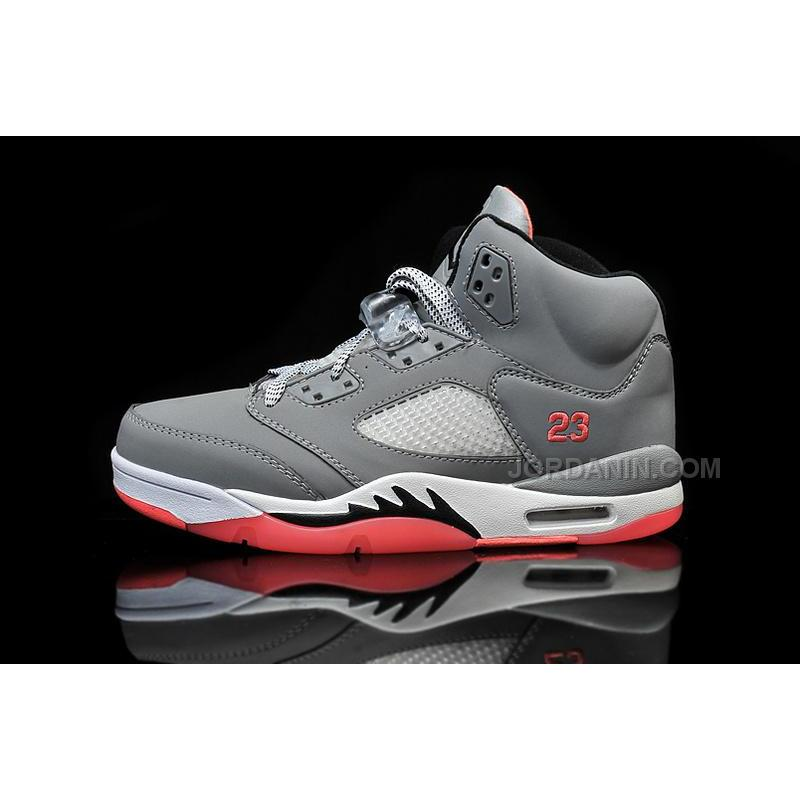 "timeless design fbb03 299c3 Air Jordan 5 Retro Womens GS ""Hot Lava"" In Girls Cheap For Sale"