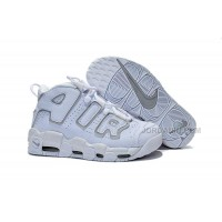 Womens Nike Air More Uptempo GS White/Neutral Grey Girls For Sale