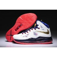 Nike LeBron 10(X) Women Shoes Gold Medal Online