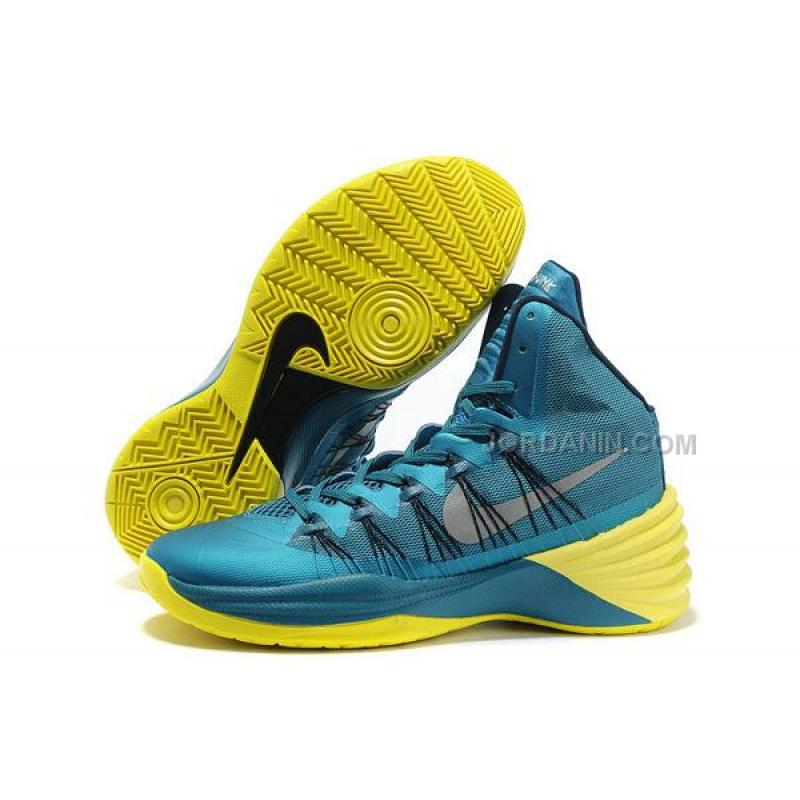 7b590015ab7f4a Women Nike Hyperdunk 2013 XDR Tropical Teal Sonic Yellow Online ...