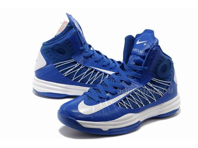 new product 58e59 557e1 Nike Lunar Hyperdunk X 2012 James Shoes Blue White Discount