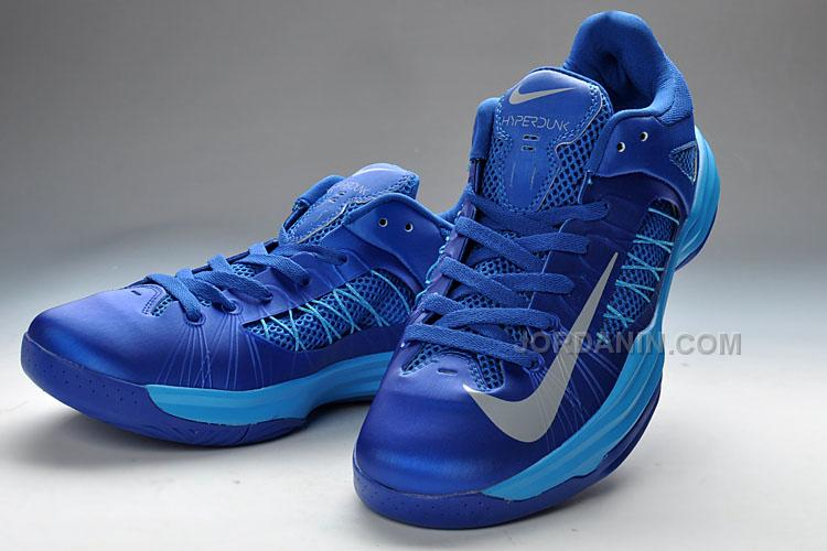 Official Nike Lunar Hyperudnk 2012 X Low Nike White Blue Silver