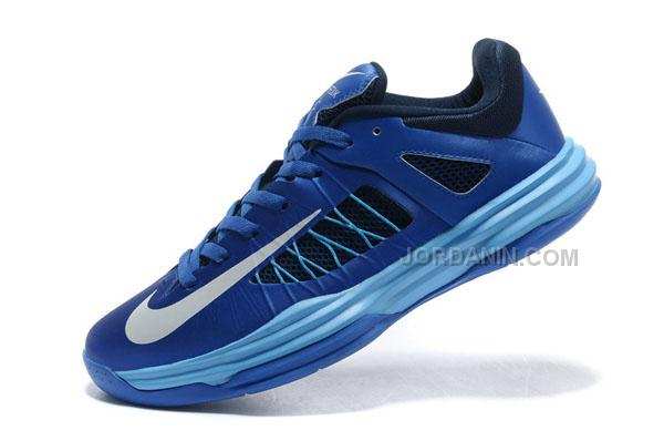 brand new 758f0 1c37c ... new style nike lunar hyperdunk x low 2012 royal blue white for sale  4bad4 54a4b ...