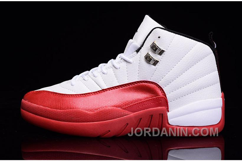 "new style 74976 91687 2016 Air Jordan 12 ""Cherry"" White Varsity Red-Black"