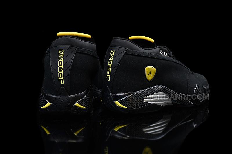 "768a6dbc82f613 Air Jordan 14 Retro ""Black Suede Ferrari"" Cheap For Sale"