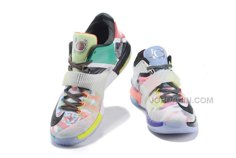 """11fb5c9ec468 2015 Cheap Nike KD 7 """"What The"""" Glow In The Dark For Sale Online ..."""
