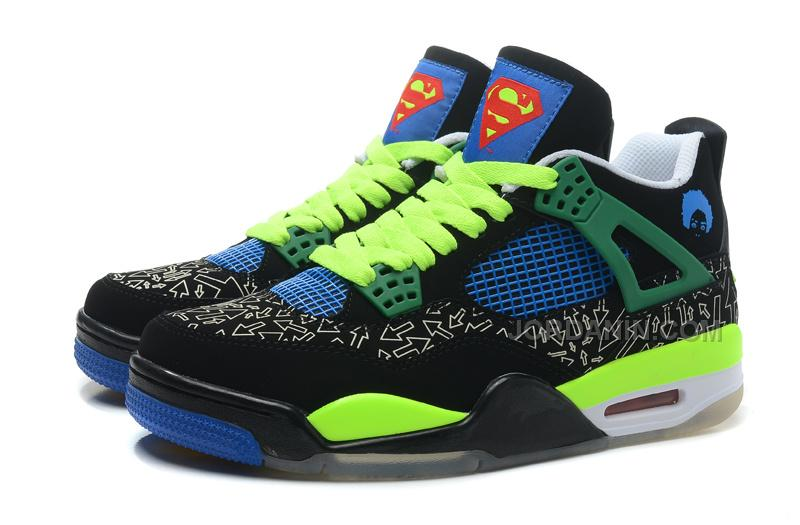 "d04e2128fb18 ... 204 20retro 20doernbecher 20 e2 80 9csuperman e2 80 9d 20black 20old  20royal electric  Air Jordans 4 Retro Doernbecher ""Superman"" BlackOld ..."