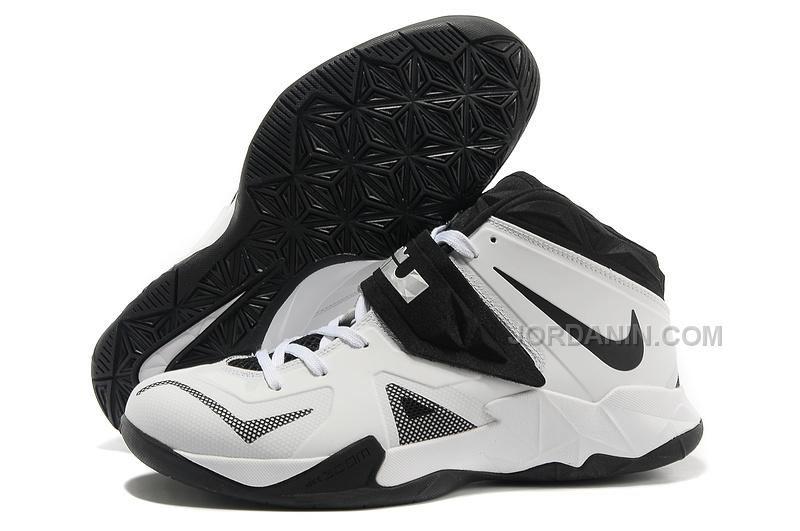 on sale f7101 a0eac Nike Zoom Lebron Soldier 7 White/Black For Sale