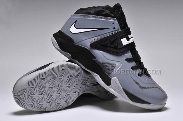 Nike Zoom Lebron Soldier 7 Grey/Black For Sale, Price: $82 ...