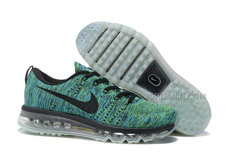 Men Nike Air Max 2014 Flyknit Running Shoes 268 New Arrival