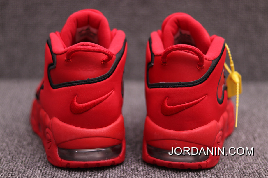 Plus Nike Red Black Big 3 Shipping Free 138 Air Uptempo 600 Channels Be PippenJordan rChdxotsQB