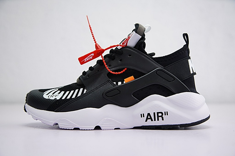 Independent Brand Creative Custom Virgil Abloh Designers OFF WHITE X Nike  Air Huarache Ultra 4 Retro