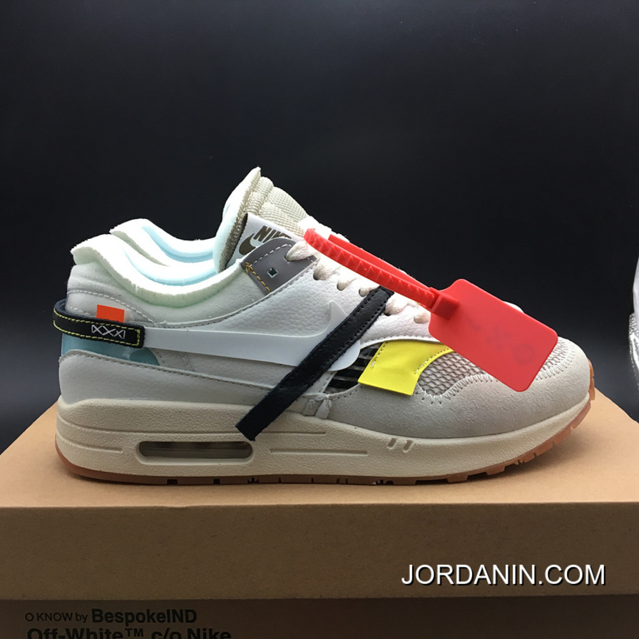 1fd6ff81730 For Sale Nike Air Max 1 Virgil Abloh BespokeIND Off-White VirgilAbloh With  The Ten Version AA7293-100 The Size Of The Whole Yards Out