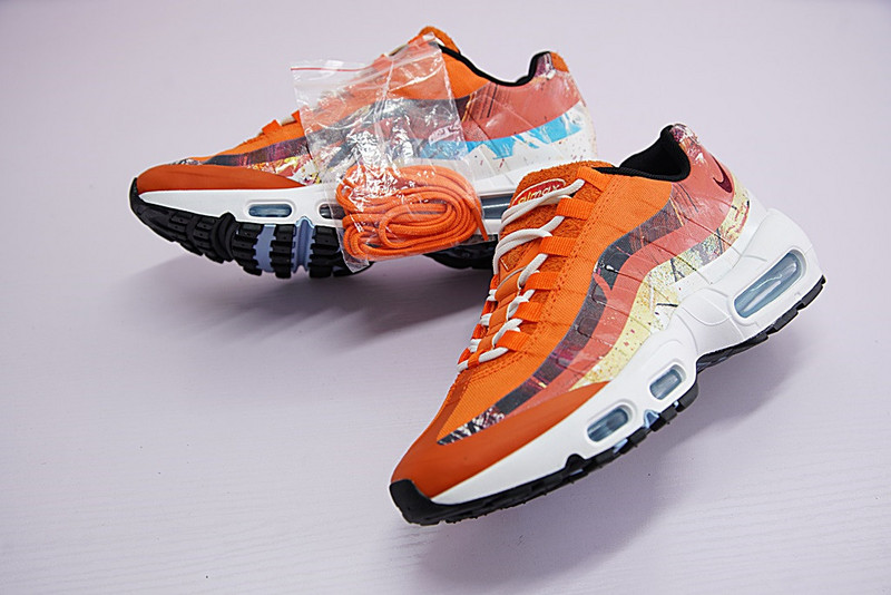 acbf1281b0 Men Shoes Artist To Be Dave White X The Size Nike Air Max 95 X Zoom ...
