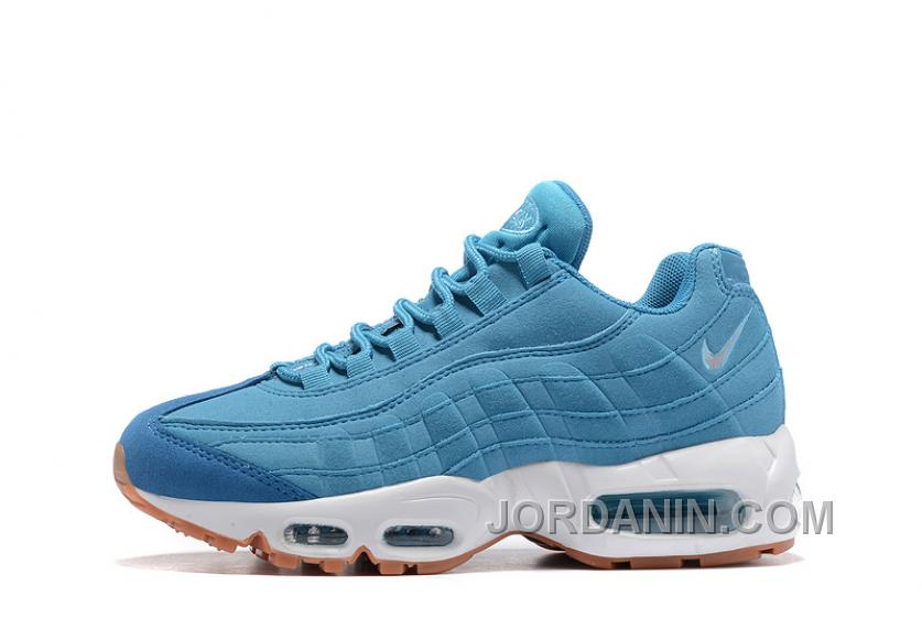 sports shoes 98811 3d3d6 Nike Air Max 95 2017 Spring Blue Women New Release