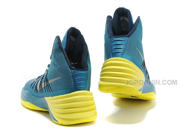 the best attitude 36af7 085fc Nike Hyperdunk 2013 XDR Tropical Teal Sonic Yellow For Sale . ...