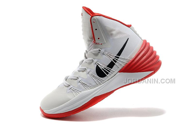 Nike Hyperdunk 2013 XDR White/Black/Red For Sale, Price