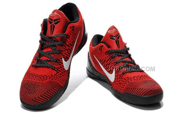 best website 4a9d8 c629b Nike Kobe 9 Elite Low University Red Black Online
