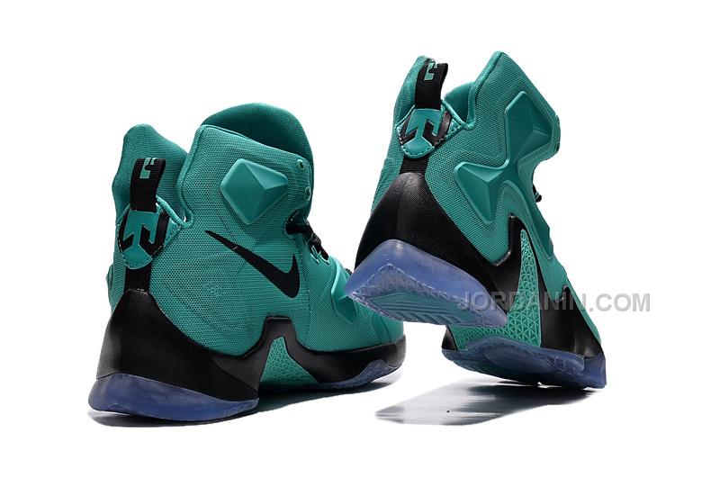 new concept 8f391 10350 Hot Nike LeBron 13 Green Black
