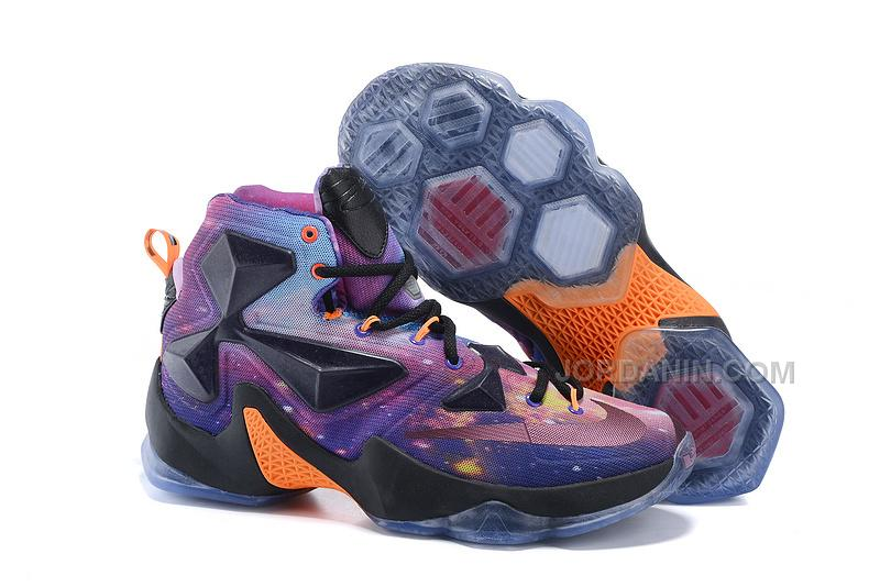 on sale 7fe35 276ae Hot Nike LeBron 13 Galaxy