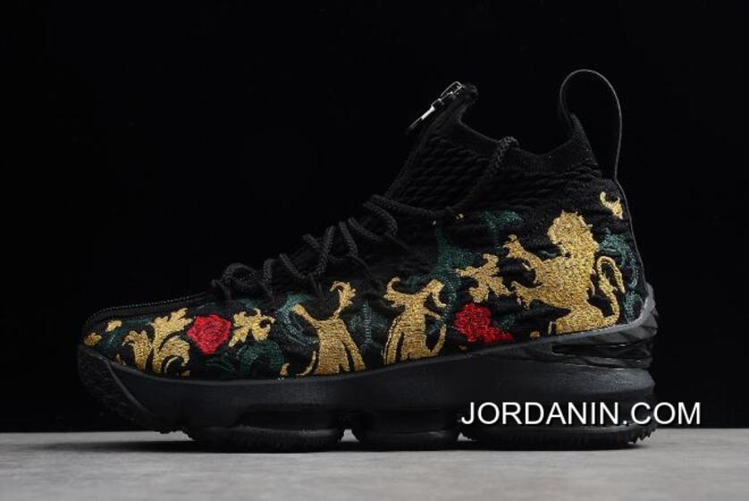 "KITH X Nike LeBron 15 ""Closing Ceremony"" Black-Multi-Color Discount"