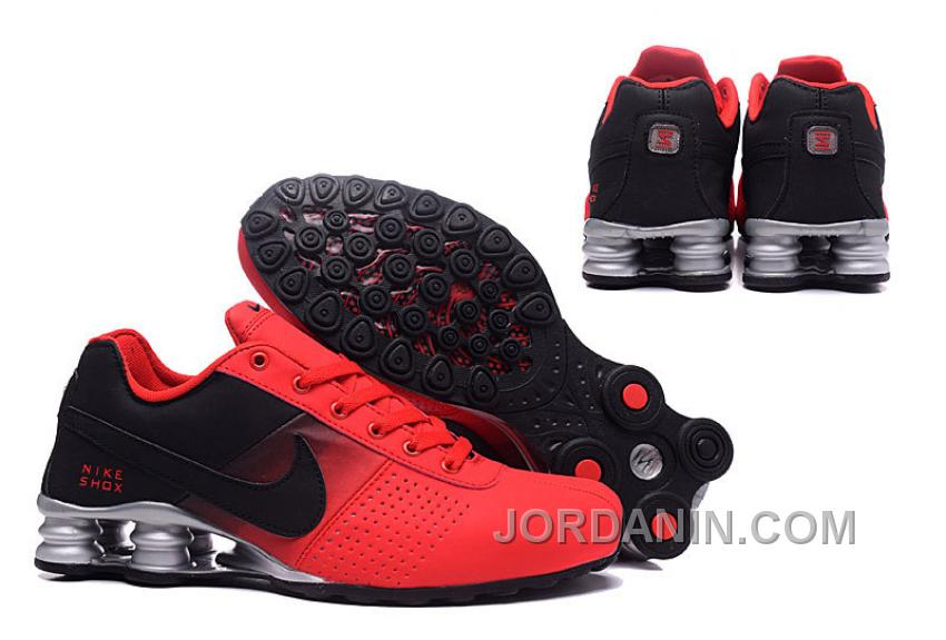 NIKE SHOX DELIVER 809 RED WOMEN BIGGER SIZE Online
